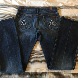 "7 For All Mankind ""A-Pocket"" Jean"
